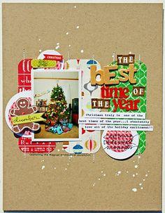 Fun Christmas page.