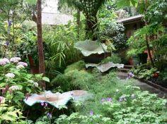 ''little and lewis  beautiful garden sculptures