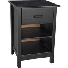 cabinets, onlin shop, buy aspen, bedsid cabinet, aspen bedsid, black, bedsid chest