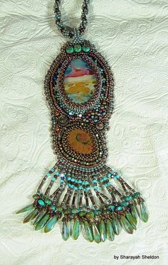 SEDONA  Majestic Brilliance  A Bead Embroidered by 4uidzne on Etsy, $179.00