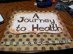 A scrapbook on our weight loss journey