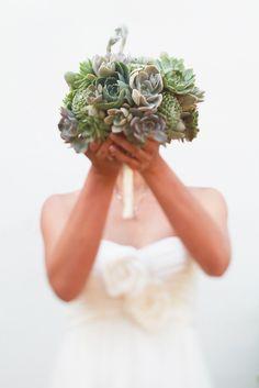Bouquet De Noiva Com Suculentas Succulents On Pinterest