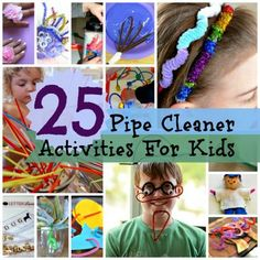 25 Pipe Cleaner Activities for Kids