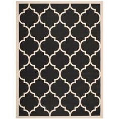 Safavieh Courtyard Black/Beige 9 ft. x 12 ft. Area Rug-CY6914-266-9 at The Home Depot