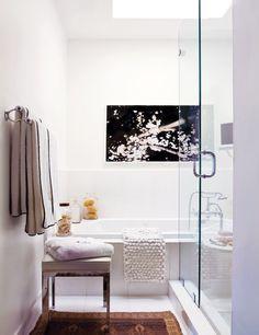 A Fresh, Layered Atlanta Loft  #interiordesign #decor #bathroom