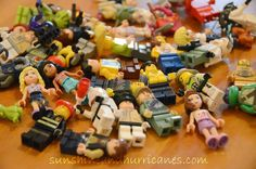Let's Get Crazy with Lego - Minifigures you can design, free printable!   sunshineandhurricanes.com