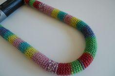 locks, crochet // bike lock
