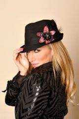 Debbie Gibson with cool  Fedora