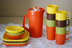 Vintage Tupperware Children's Toy Dishes