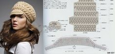 Cool hat with diagram...