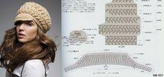 crochet hat, crochet boutiqu, diagrama crochet, adult hat, crochet craft