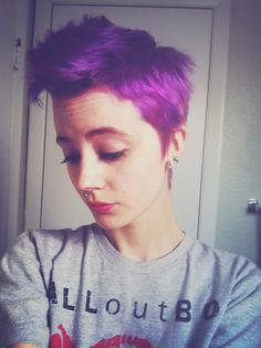 Short, purple and pretty
