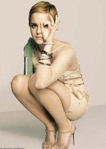 short hair, icon, marie claire, fashion, pixie cuts, mini dresses, emma watson, actress, portrait
