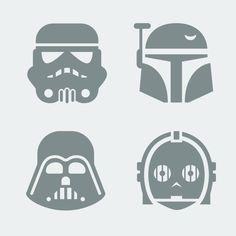 Star Wars Silhouette on Pinterest | Star Wars Crafts, Star Wars Quilt ...