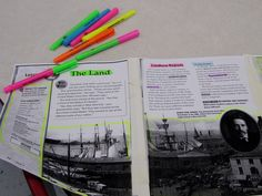 text map, text features, reading comprehension, graphic organizers, textmap
