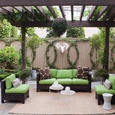 contemporary patio by Sally Wheat Interiors