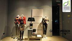 Gerry Weber window displays Autumn 2012 Vienna