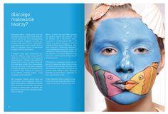 face paint, paint book