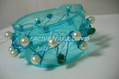 My PET-bangles    #Bottles, #Jewelry, #PET, #Plastic, #Recycled