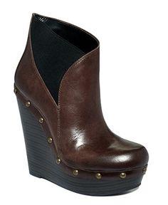 Jessica Simpson Esteen Wedge Booties. Love these.
