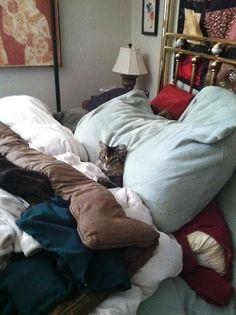 Where r u going to sleep......