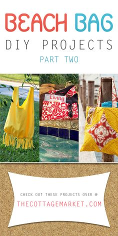 Beach Bag DIY Projects Part Two - The Cottage Market