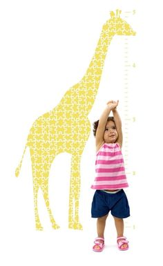giraffe wall decal - do they have in pink?
