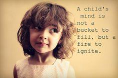 Child's mind.
