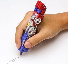 This Pen Transforms Into Optimus Prime