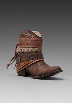 Freebird by STEVEN Mezcal Boot in Brown