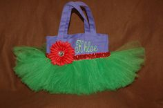 Gorgeous Little Witch Halloween Tutu Tote Bag for by bashergirl, $30.00