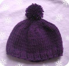 American Girl Doll Hat--knitting pattern
