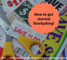How to get started stockpiling