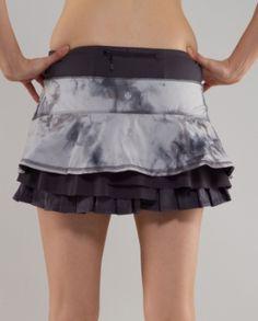 LOVE lulu running skirts!