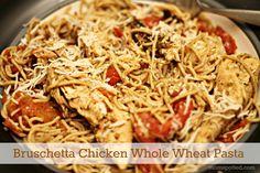 Bruschetta Chicken Whole Wheat Pasta McCormick