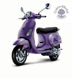 Purple Vespa!