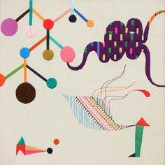artists, friends, japanese embroidery, takashi iwasaki, hands, friend rasmus, domingo de, fiber textur, embroideri art