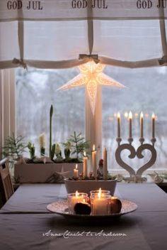 advent, shabby chic christmas, jul winterchristma, candle holders, christmas windows