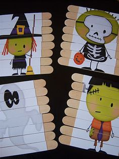 The Schires Five: Popsicle Stick Puzzles.