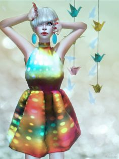 "Check out the Second Life Pic of the Day, ""60's"", photo by Ruriko Bracken."