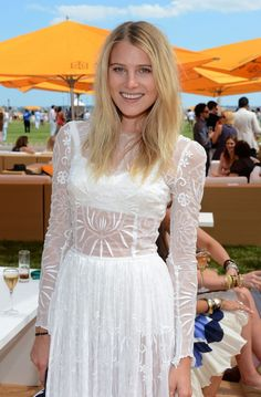 Polo Style: Dree Hemingway at the Veuve Clicquot Polo party