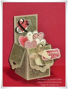 valentine box, idea, heart, tag topper punch stampin up, stampin up scallop tag punch, popup box, pop up box cards, blog, card boxes