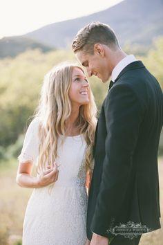 Modest wedding dress  photo: Jessica White