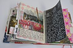 Mary Ann Moss journal pages