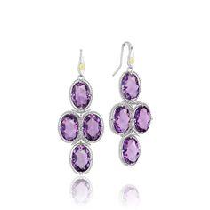 style, amethyst earring, fashion jewelri, tacori lilac, lilac blossom