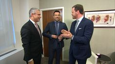 Willie Geist and Carson Daly undergo live testicular cancer exams