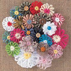 Loom flowers