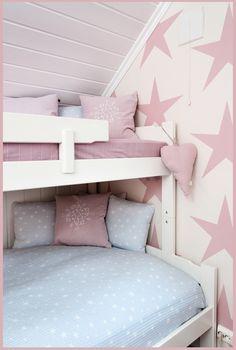 mommo design: Bunks for Girls // claradeparis.com loves the wall paper