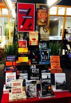 """First in Series"" Mystery display mysteri display, display idea, bookstor display"