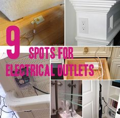 electrical outlets, new houses, electric outlets, electr outlet, outlet idea, spot